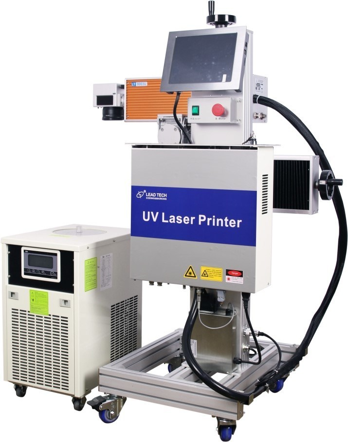 Lead Tech Lt8003u/Lt8005u UV 3W/5W High Precision Digital Laser Engraving Marking Printer for Cans/Plastics