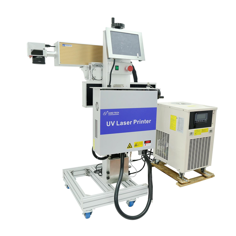 Lead Tech Lt8003u/Lt8005u UV 3W/5W High Precision Digital Laser Engraving Marking Printer for Cables/PVC Sheets