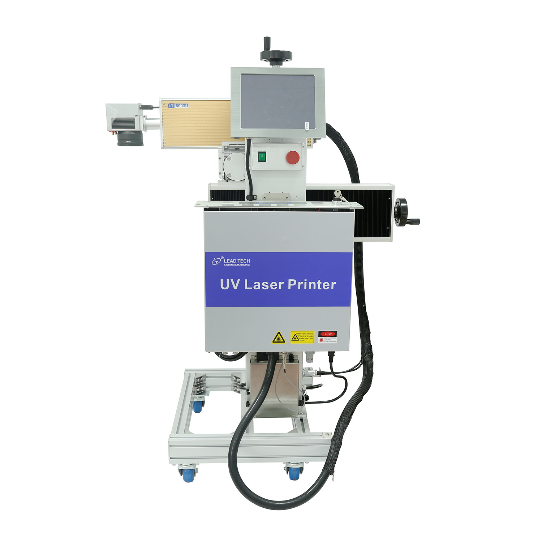 Lead Tech Lt8003u/Lt8005u UV 3W/5W Digital Laser Printer for Plastic, Metal Printing