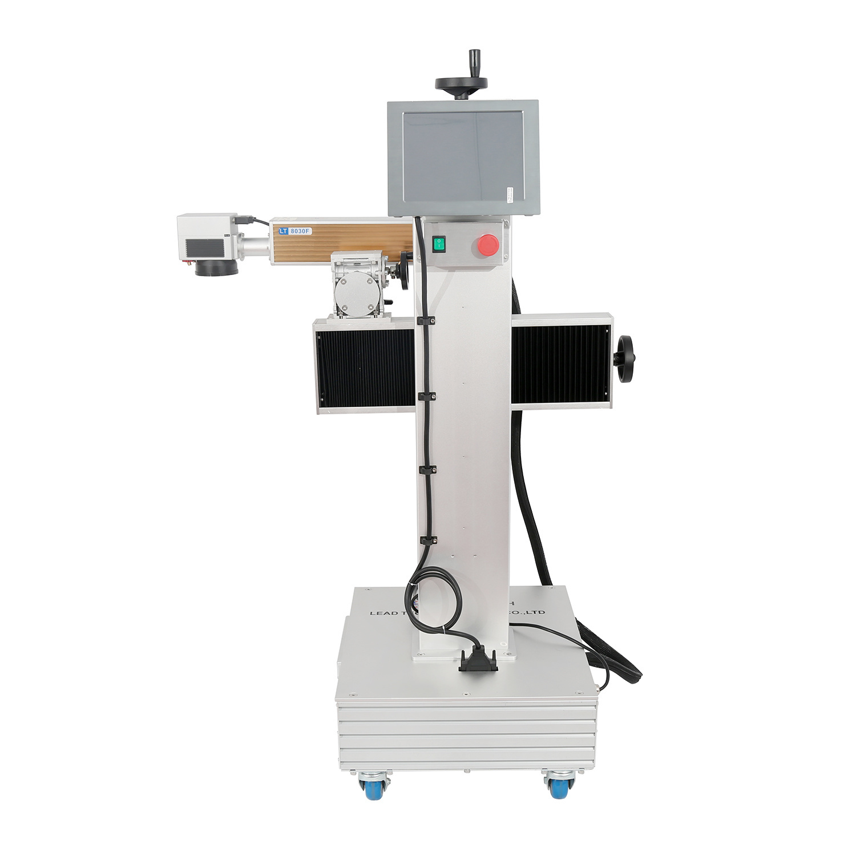 Lt8020f/Lt8030f/Lt8050f Fiber 20W/30W/50W High Speed Digital Laser Printer for HDPE PVC PPR Printing