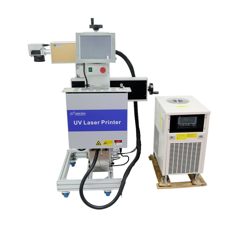 Lead Tech Lt8003u/Lt8005u UV 3W/5W High Precision Flying Laser Printer for Stainless Steel Metal