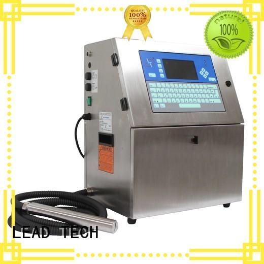 LEAD TECH industrial digital press custom for pipe printing