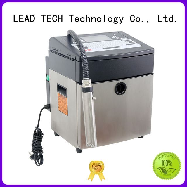 LEAD TECH commercial matthews inkjet printers good heat dissipation for auto parts printing