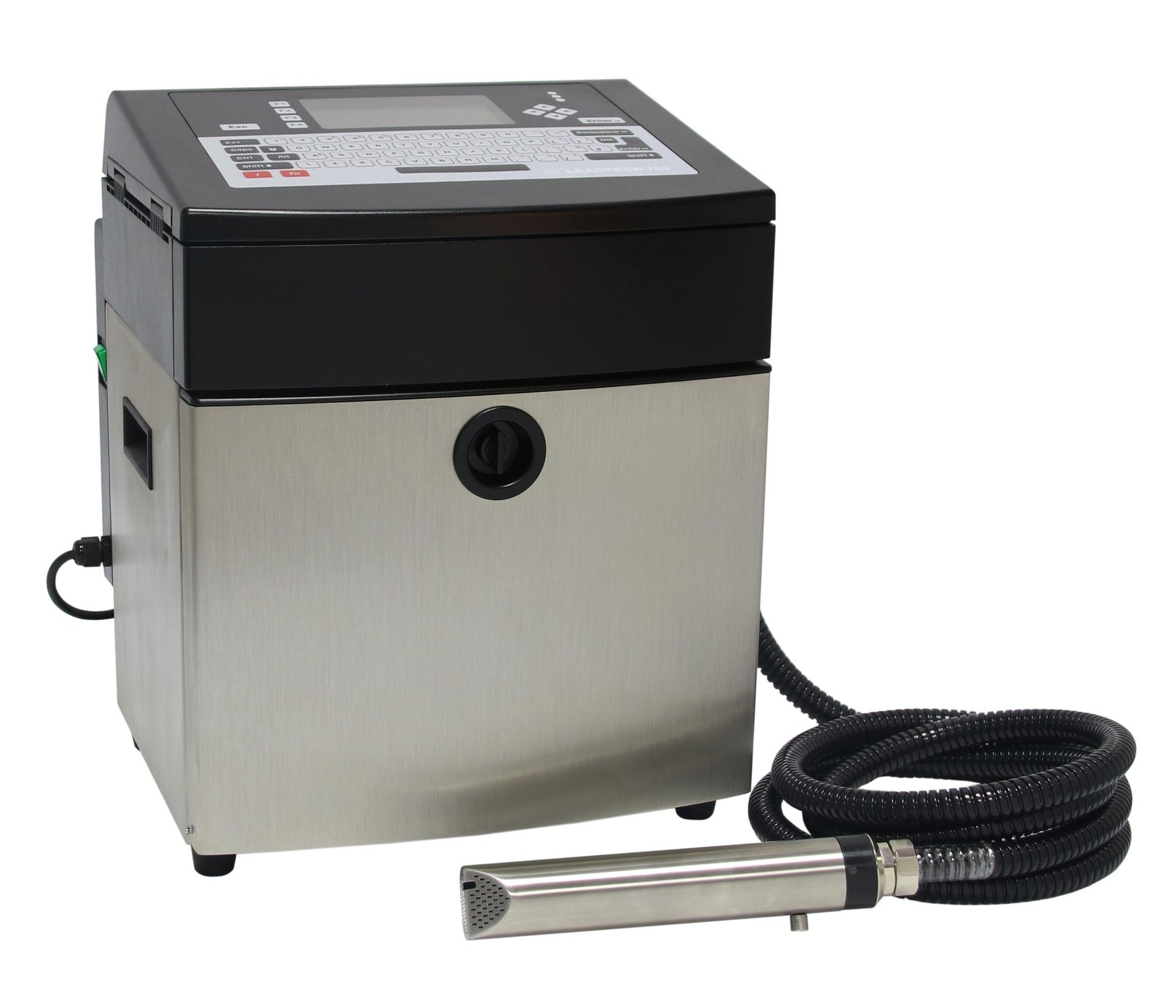 Lead Tech Lt760 Black to Red Coding Cij Inkjet Printer