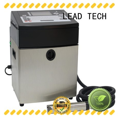 LEAD TECH industrial jet printer OEM for auto parts printing
