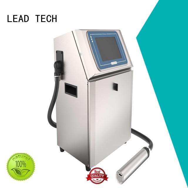 LEAD TECH industrial inkjet coding printer for business for household paper printing