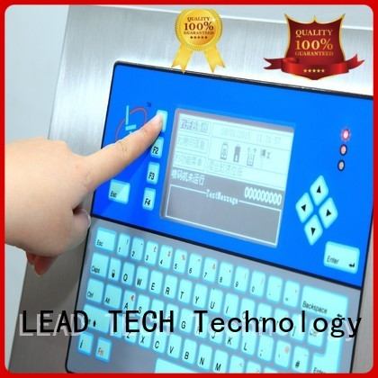 LEAD TECH Top codeprint good heat dissipation for daily chemical industry printing