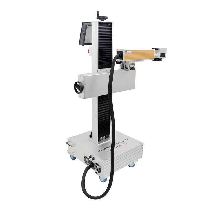Lt8020f/Lt8030f/Lt8050f Metal Rating Plate Date Code Package Fiber Laser Printer