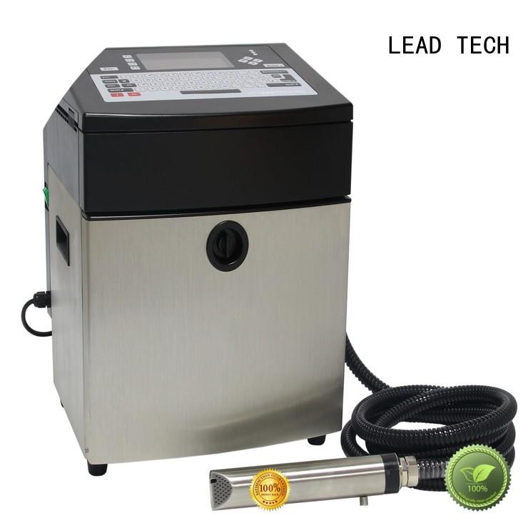 LEAD TECH continuous ink printer professtional for tobacco industry printing