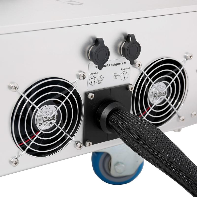 Lt8020f/Lt8030f/Lt8050f Metal Steel PVC HDPE Pipe Tube Fiber Laser Printer