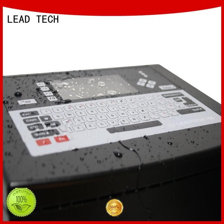 LEAD TECH laser printer vs inkjet uk custom for food industry printing