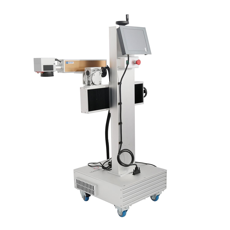 Lead Tech Lt8020f/Lt8030f/Lt8050f Coding Marking Machine Fiber Laser Printer