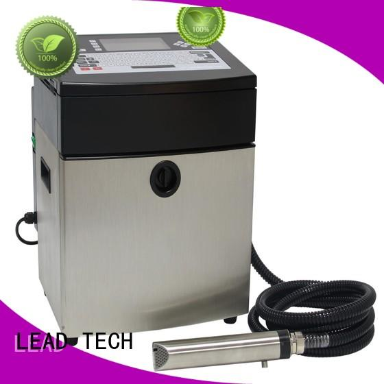 LEAD TECH High-quality printer continuous ink system philippines factory for daily chemical industry printing