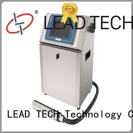 LEAD TECH hot-sale inkjet bottle printer for business for tobacco industry printing