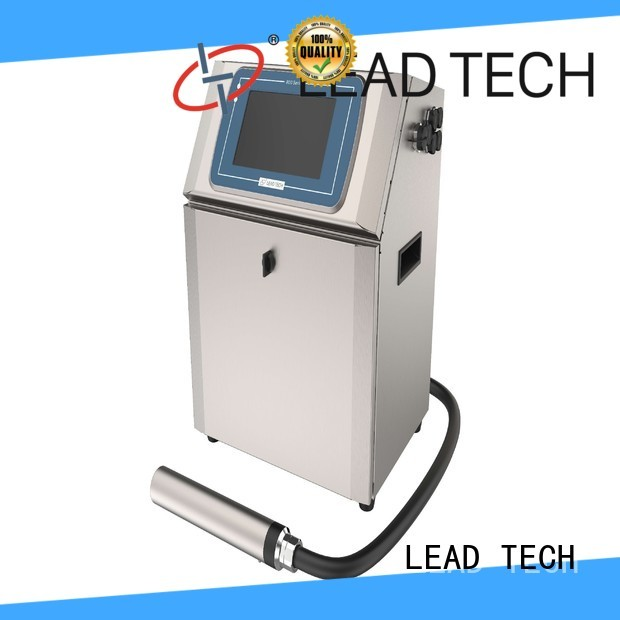 LEAD TECH high-quality date coder printer fast-speed for auto parts printing