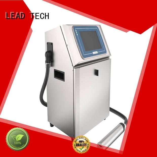 LEAD TECH hot-sale brother continuous ink printer manufacturers for drugs industry printing