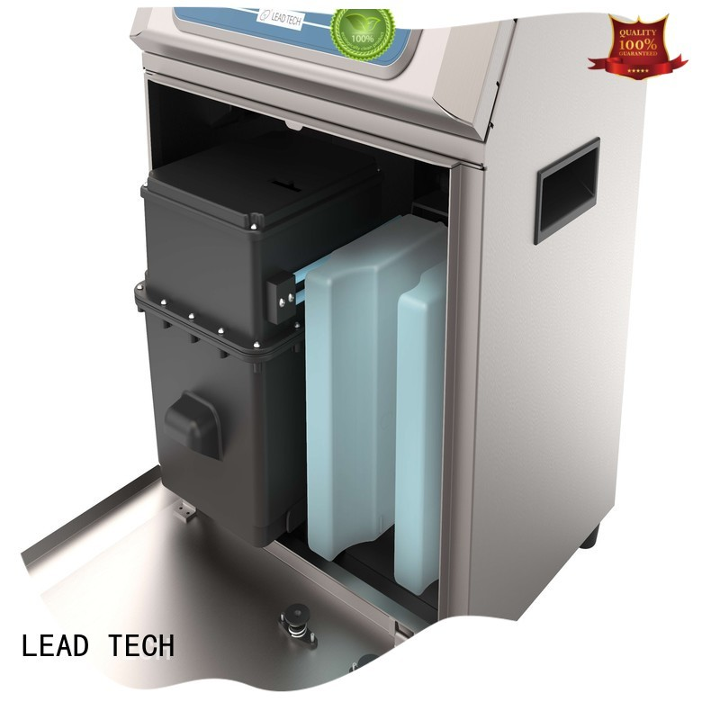 LEAD TECH commercial inkjet printer parts factory for daily chemical industry printing