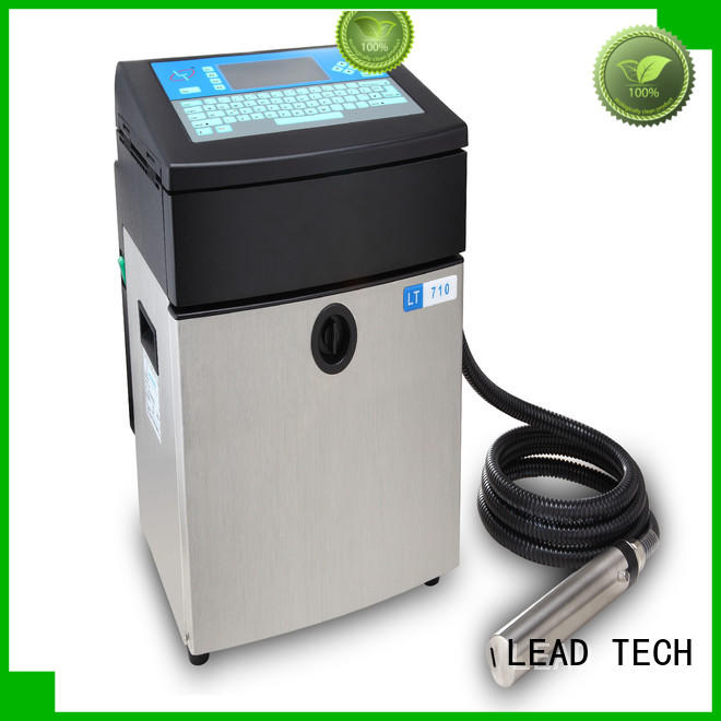 LEAD TECH Best continuous printing factory for food industry printing