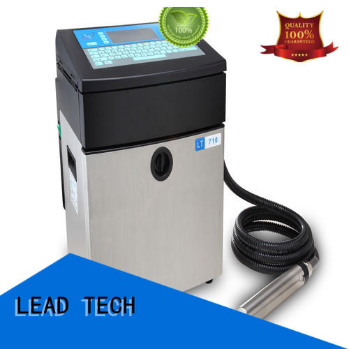 LEAD TECH latest inkjet printer company for building materials printing