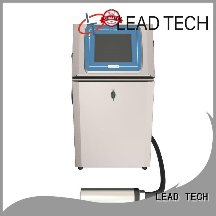 LEAD TECH non contact inkjet printer fast-speed for drugs industry printing