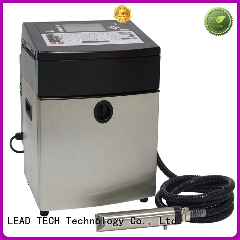 LEAD TECH inkjet printer for batch coding Supply for food industry printing