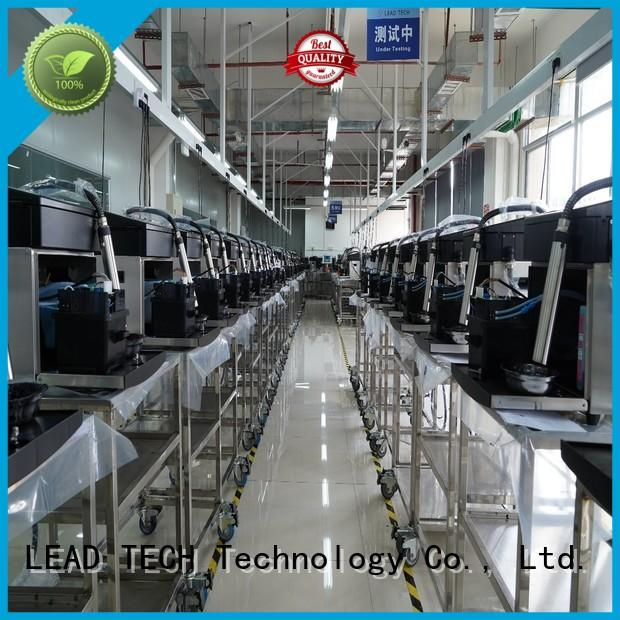 LEAD TECH hot-sale recycle inkjet printer factory for beverage industry printing
