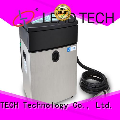 LEAD TECH innovative industrial inkjet marking fast-speed for beverage industry printing
