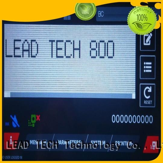 LEAD TECH industrial ink marking systems for business for pipe printing