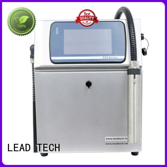 LEAD TECH inkjet printer for batch coding for business for household paper printing