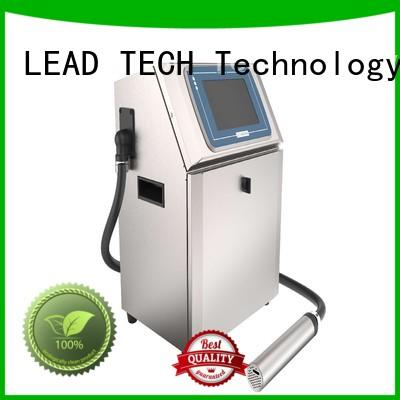 LEAD TECH bulk industrial printing systems for tobacco industry printing