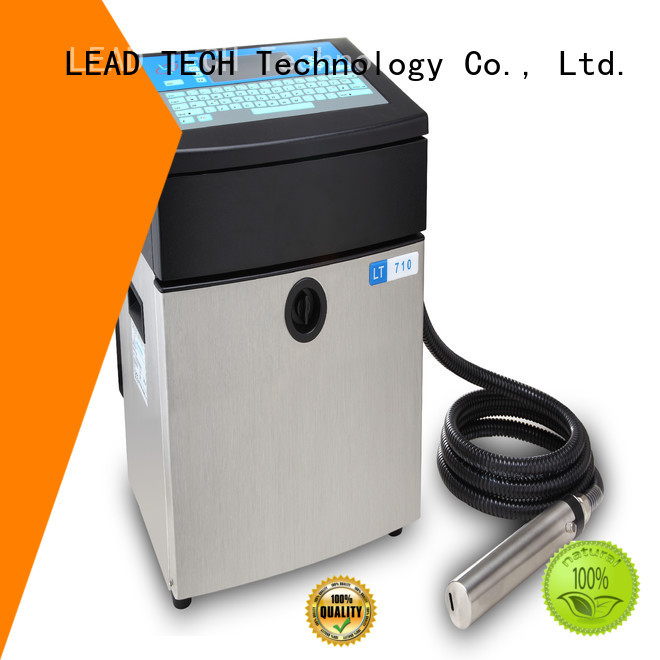 LEAD TECH industrial inkjet barcode printers company for drugs industry printing