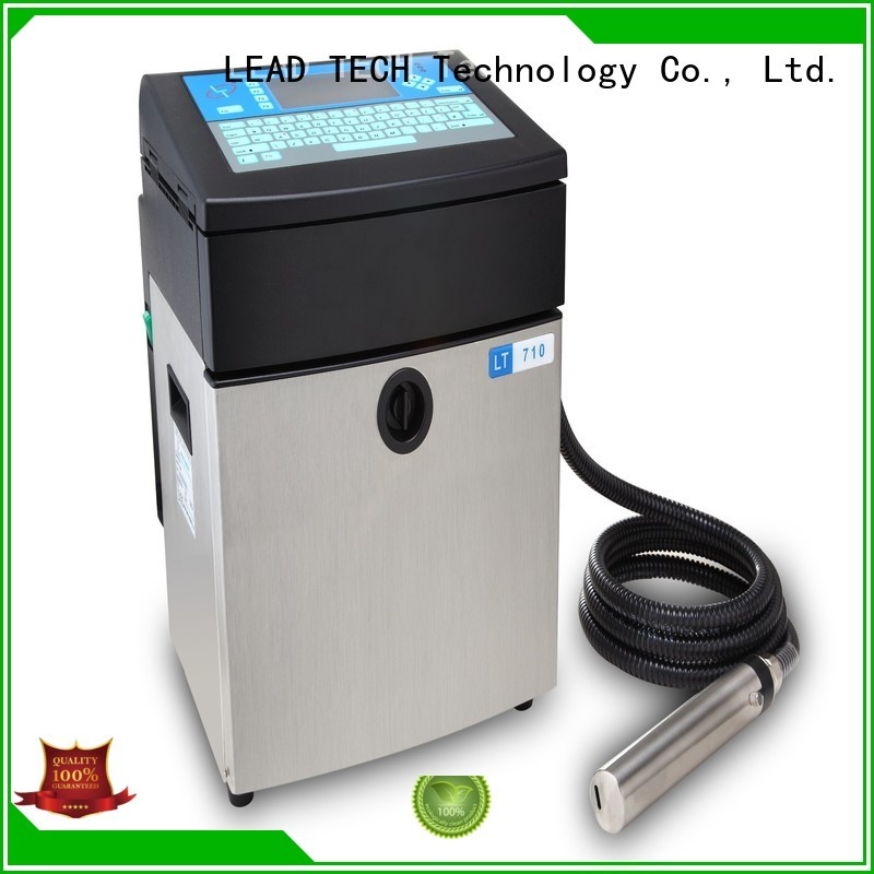 LEAD TECH reliable inkjet printer Suppliers for pipe printing