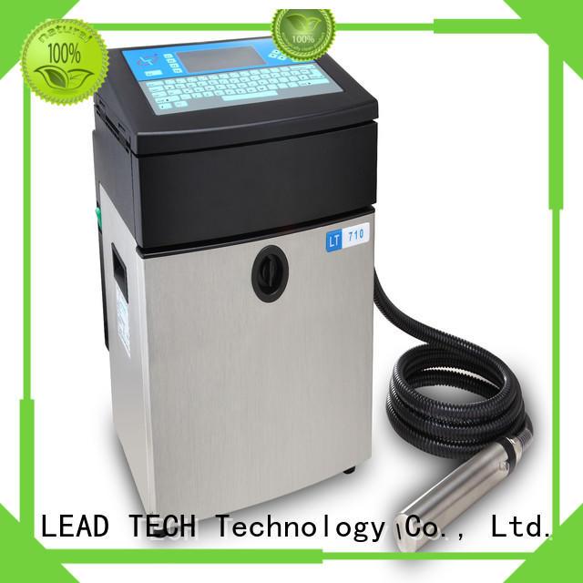 LEAD TECH inkjet printer test for business for drugs industry printing