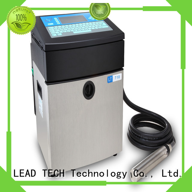 LEAD TECH inkjet printer test for business for drugs industry printing