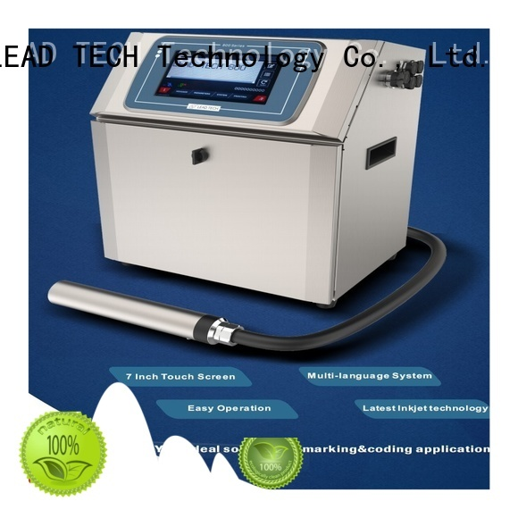 LEAD TECH Best coding and marking industry company for tobacco industry printing