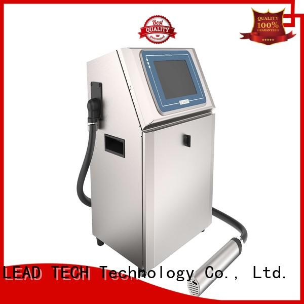 LEAD TECH bulk ceramic inkjet printer custom for drugs industry printing