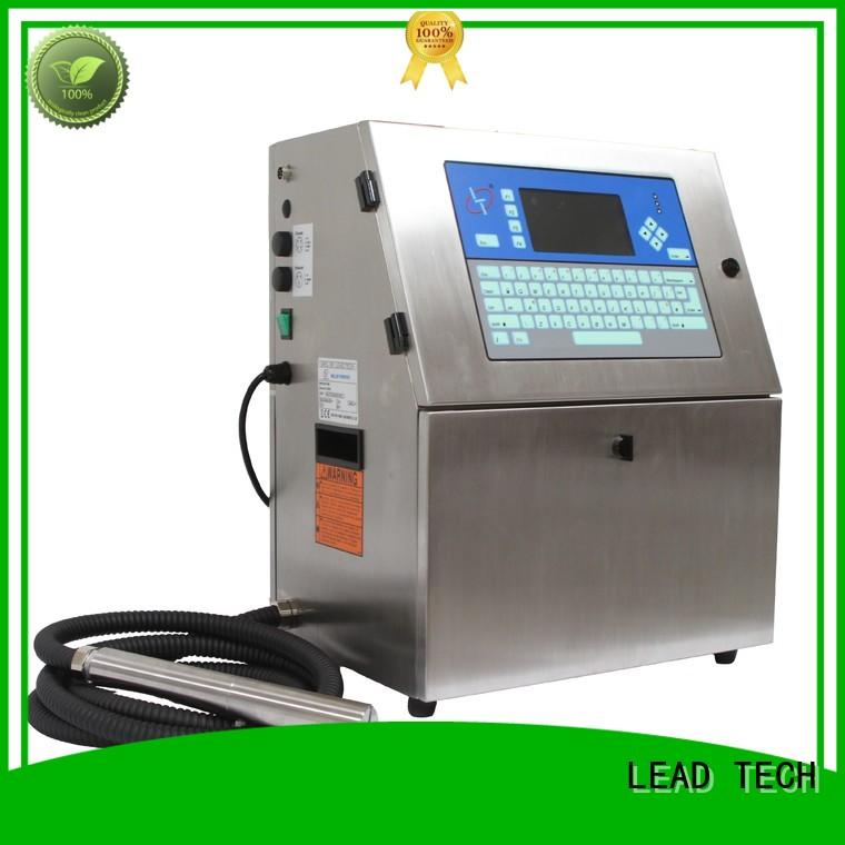 LEAD TECH hot-sale industrial inkjet printers south africa good heat dissipation for food industry printing