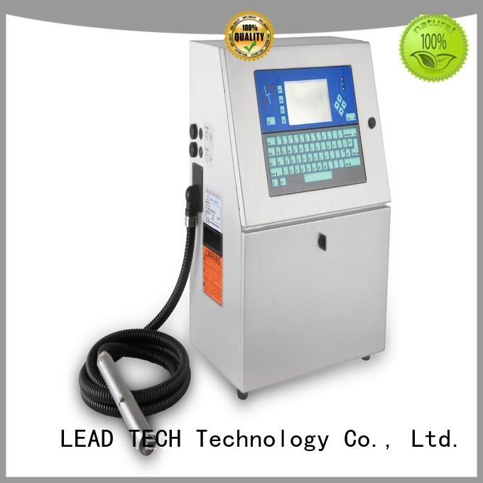 LEAD TECH printers inkjet OEM for beverage industry printing