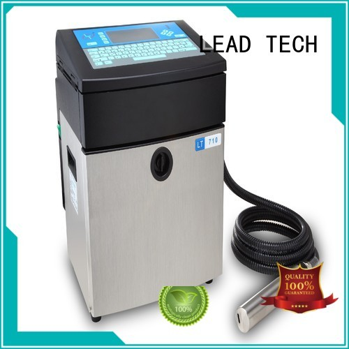 LEAD TECH inkjet company OEM for daily chemical industry printing