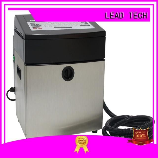 LEAD TECH define inkjet printer manufacturers for drugs industry printing