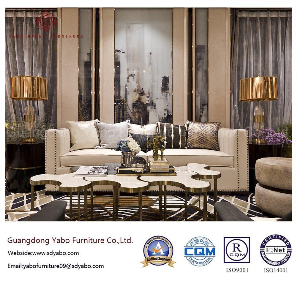 Modern Hotel Furniture for Delicate Living Room Sofa (YB-NC)