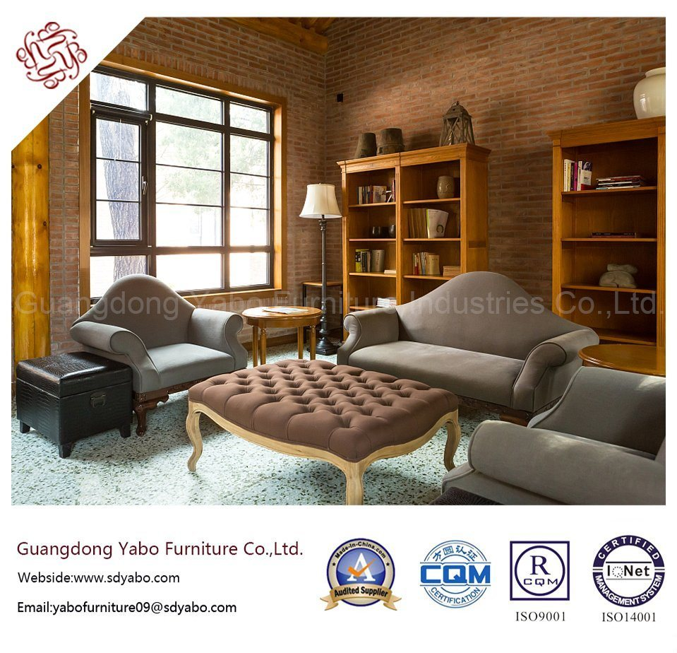 Delicate Hotel Furniture with Living Room Sofa Set (YB-0199)