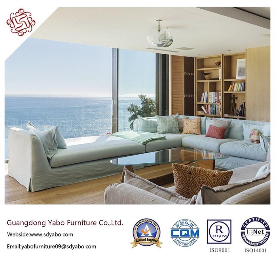 Original Hotel Furniture with Living Room Corner Sofa (YB-B-27)