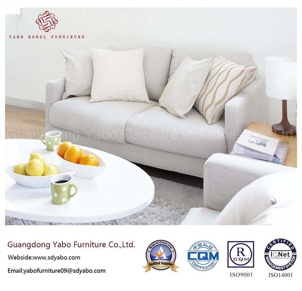 Generous Hotel Furniture for Living Room White Furniture Set (YB-W13)