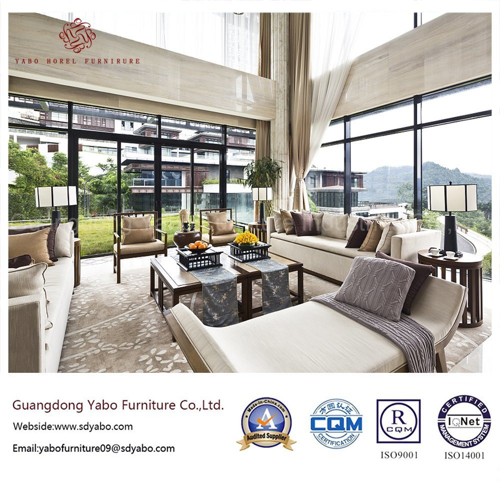 5 Star Hotel Furniture with Living Room Sofa Set (YB-W07)