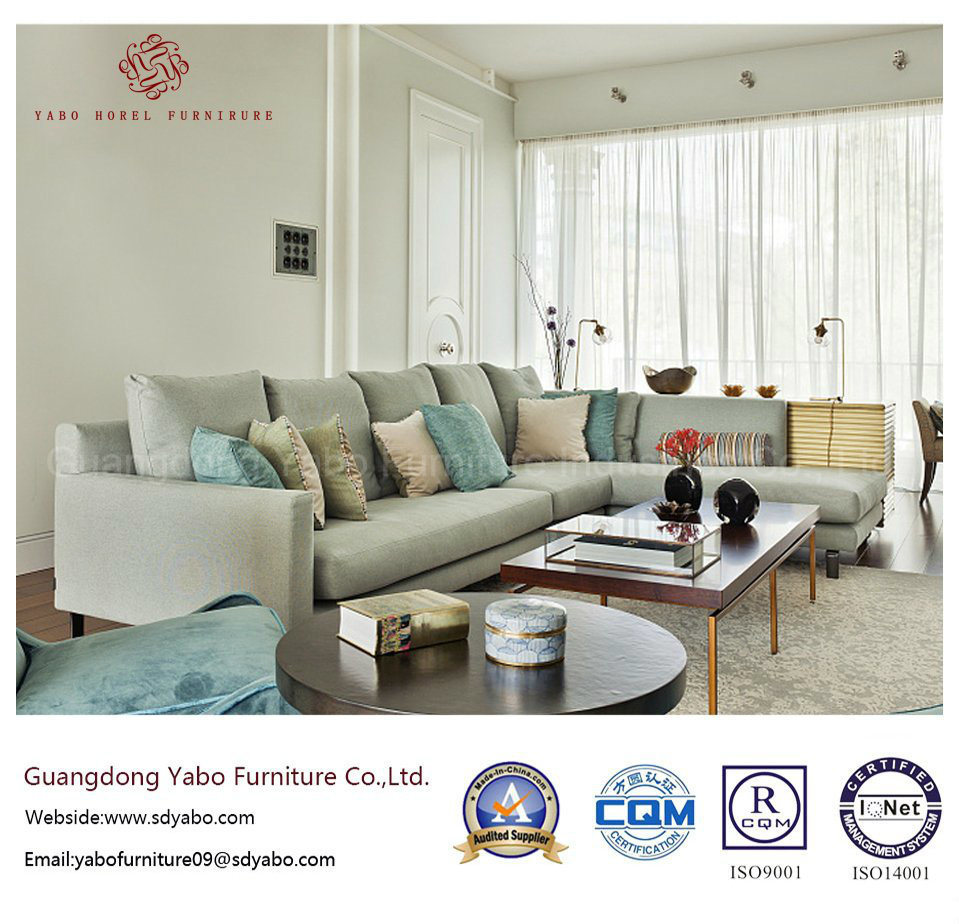 Hotel Furniture for Living Room with Modern Sofa Set (YB-S-27)