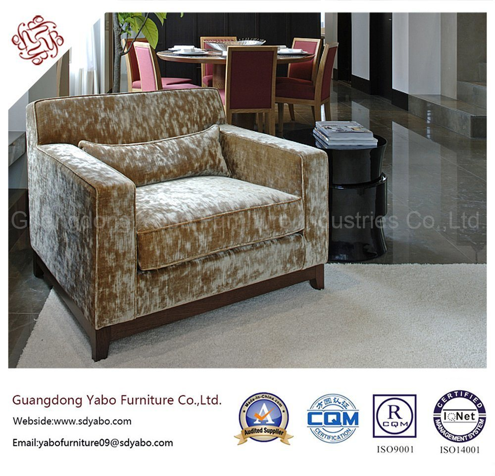 Concise Hotel Furniture for Living Room with Armchair (YB-B-18)