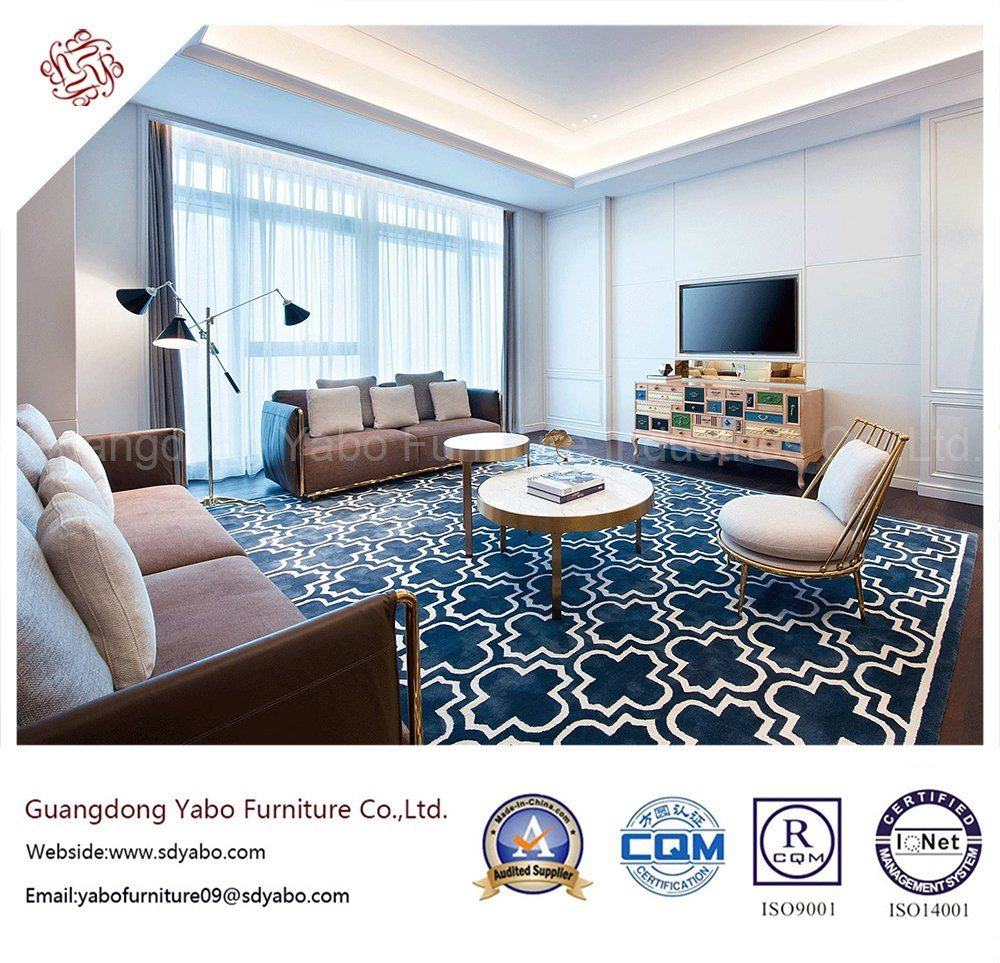 fashion Hotel Bedroom Furniture with Living Room Sofa (YB-GN-6)