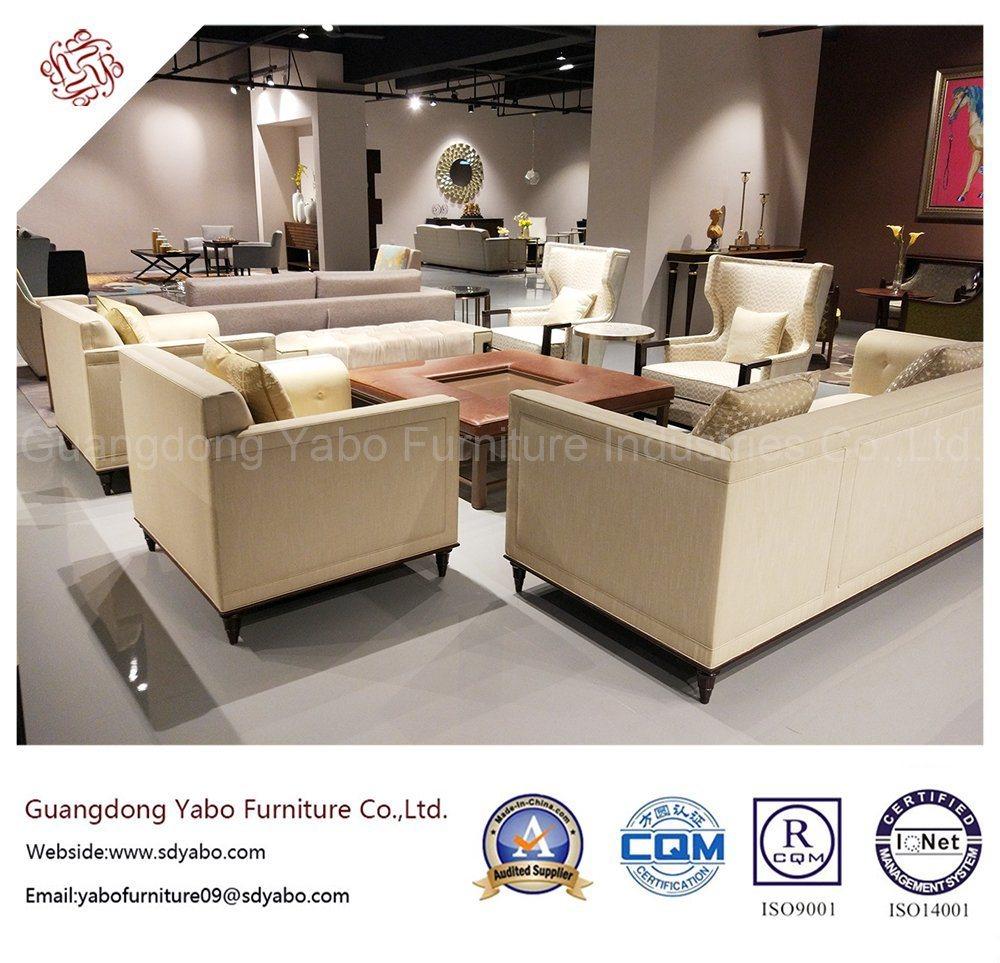 Creative Hotel Furniture for Wooden Living Room Sofa (HL-1-1-1)