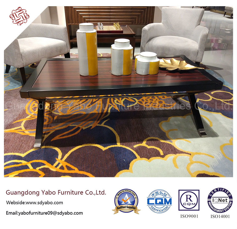 Upscale Wooden Hotel Furniture with Living Room Sofa (YB-S-15)